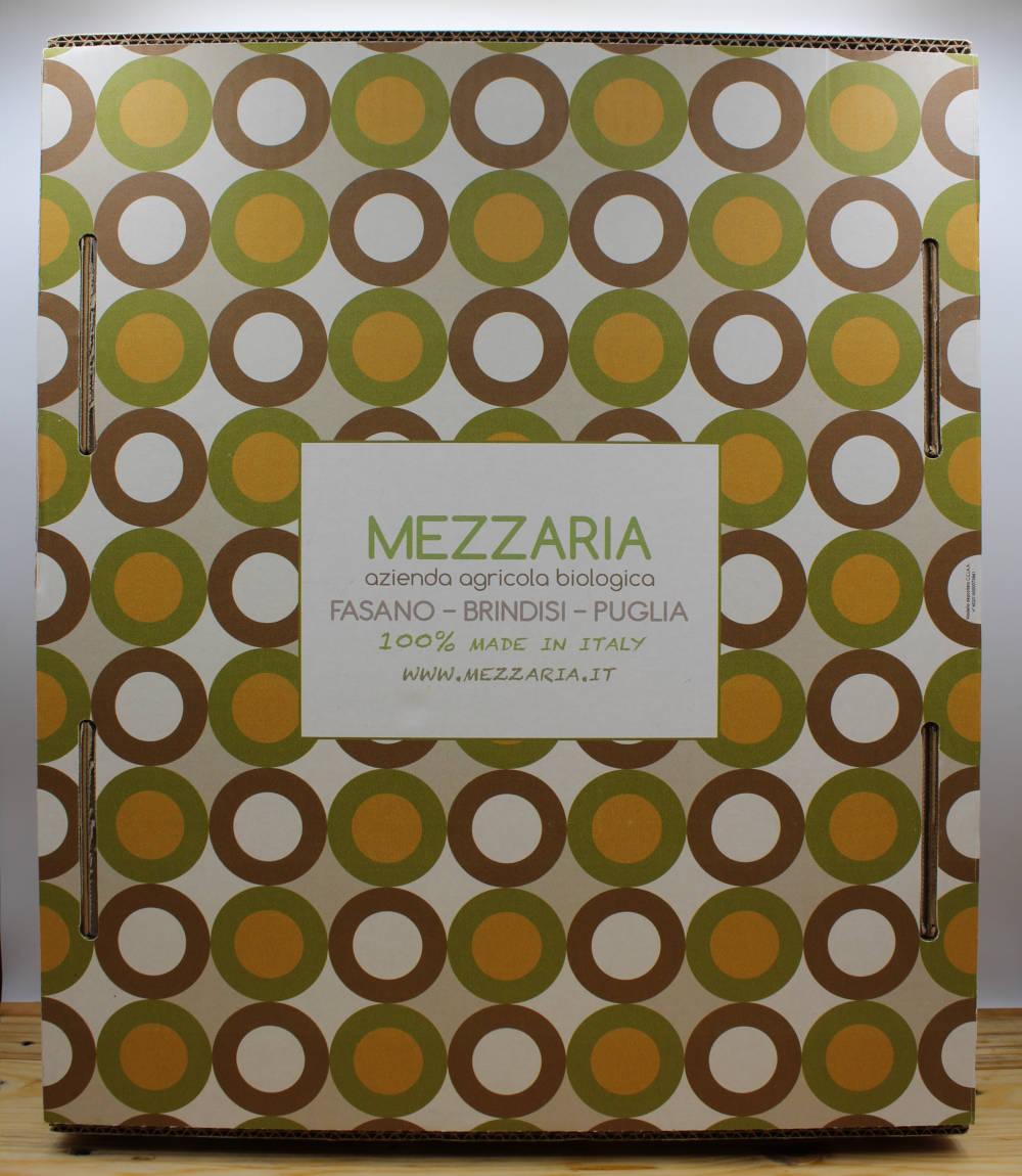 Gift box 4 - 6 - mandorle olio extravergine d'oliva - scatola decorata - Mezzaria