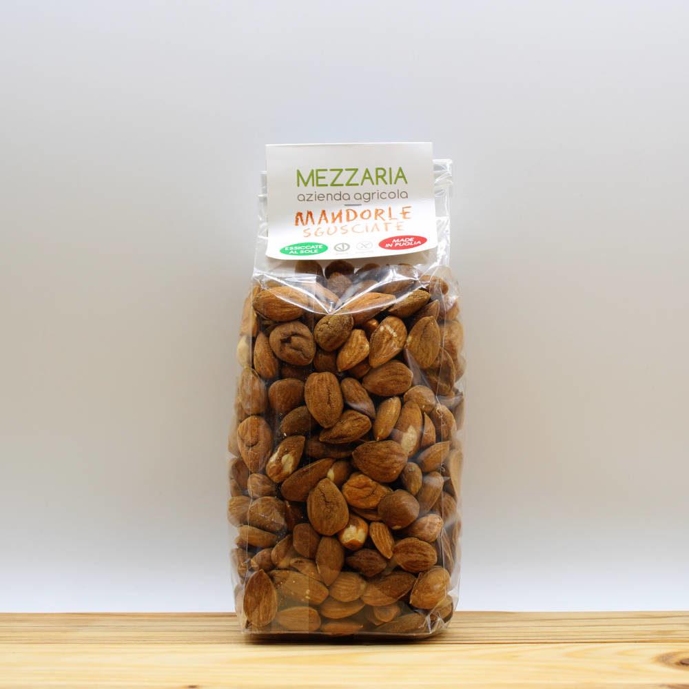 Mandorle sgusciate 400 gr - Mezzaria - Fasano - Puglia