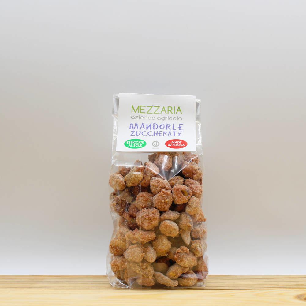 Mandorle zuccherate 250 gr - Mezzaria - Fasano - Puglia