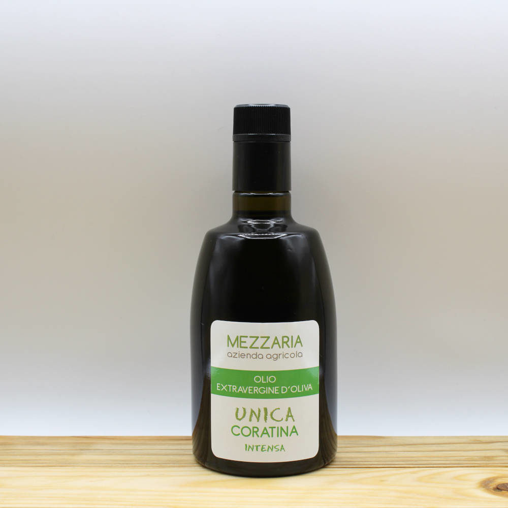 Olio Extravergine d'Oliva Coratina 0,5 L - Monocultivar - Mezzaria - Fasano - Puglia