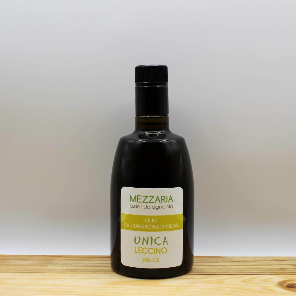 Olio Extravergine d'Oliva Leccino 0,5 L - Monocultivar - Mezzaria - Fasano - Puglia