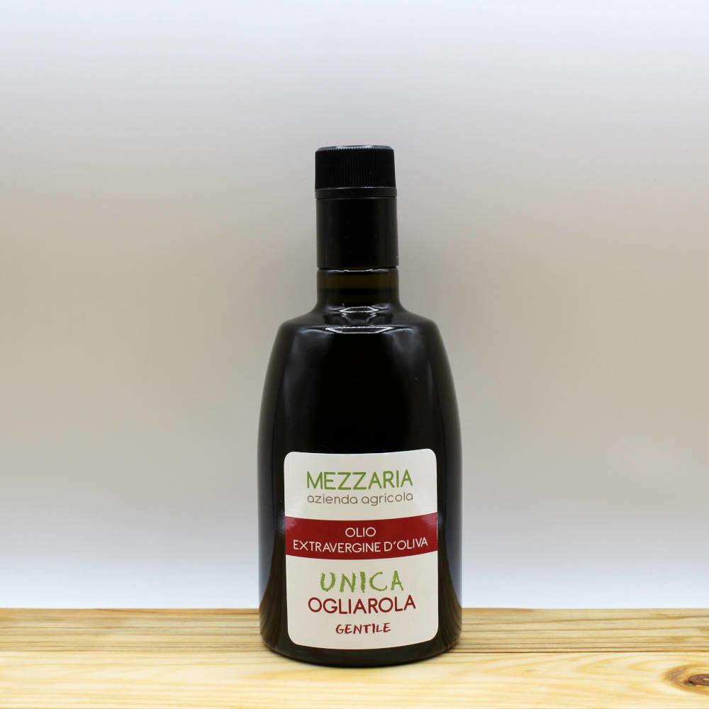 Olio Extravergine d'Oliva Ogliarola 0,5 L - Monocultivar - Mezzaria - Fasano - Puglia