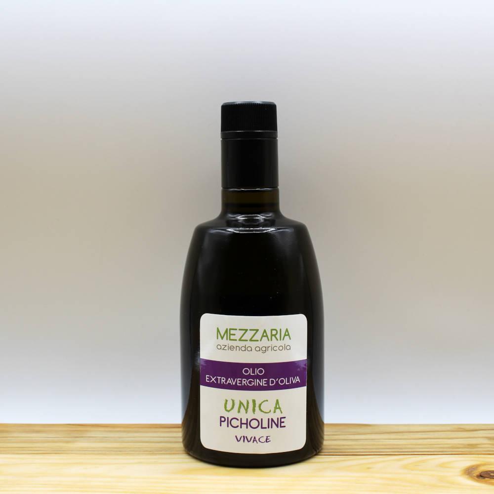 Olio Extravergine d'Oliva Picholine 0,5 L - Monocultivar - Mezzaria - Fasano - Puglia