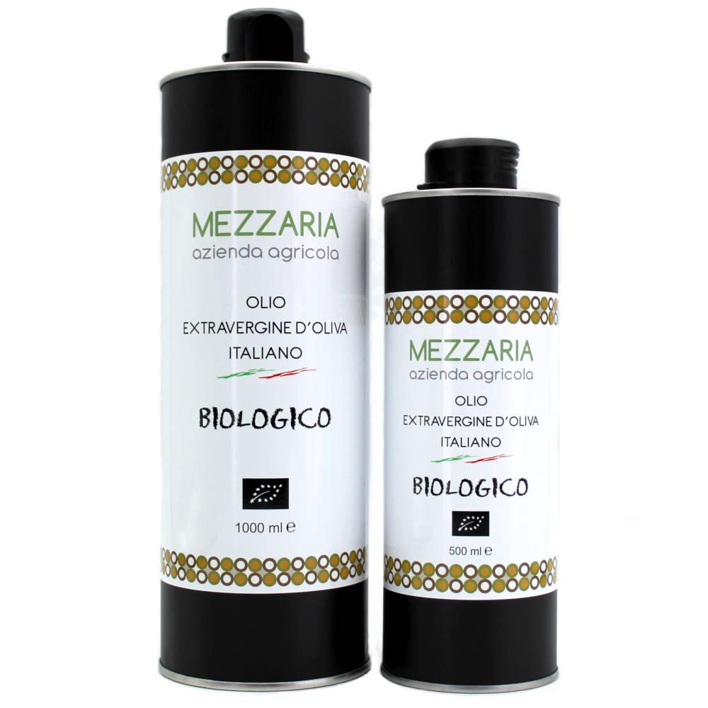 Olio Extravergine di Oliva Biologico Mezzaria - Fasano - Puglia