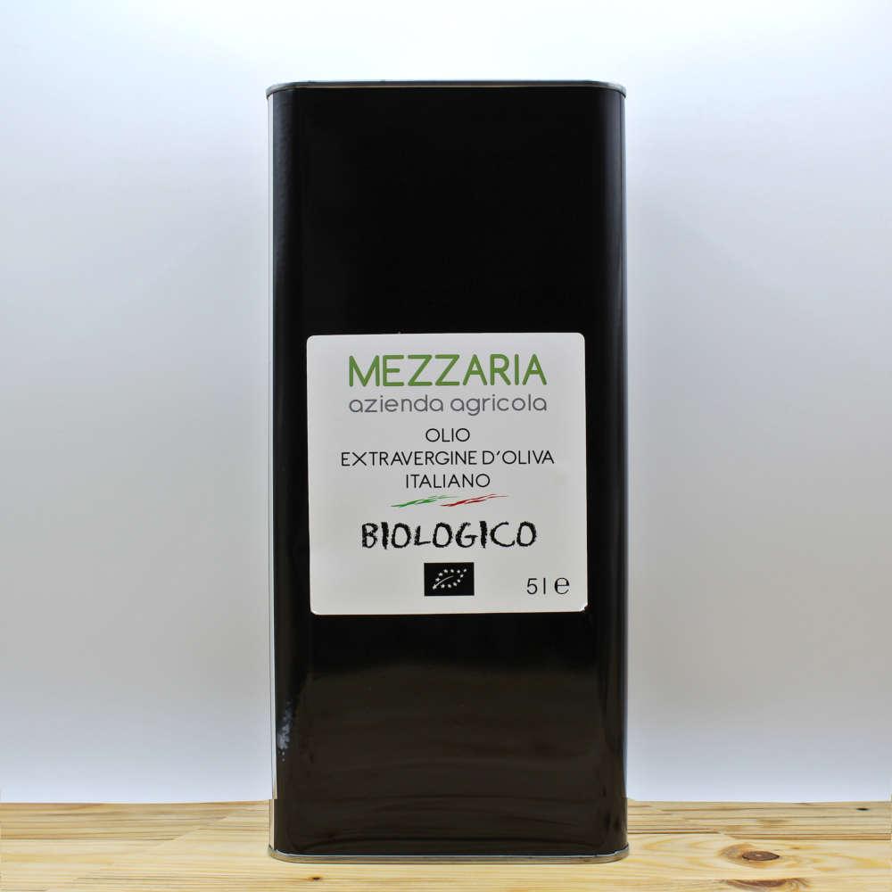 Olio Extravergine d'Oliva Biologico 0,5 L - Mezzaria - Fasano - Puglia